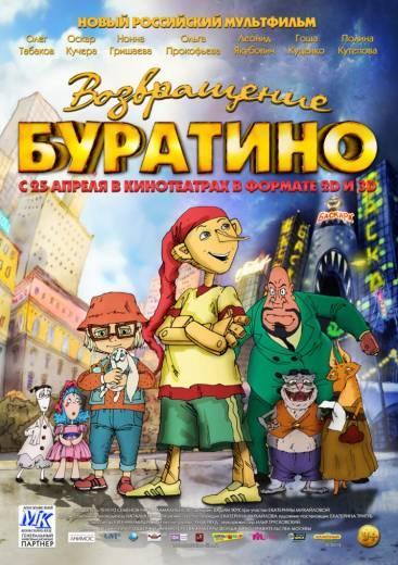 Возвращение Буратино (2013) смотреть фильм онлайн